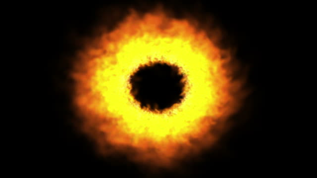 Burning Ring of Fire, Seamless Loop video