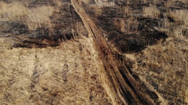 Burnt Field Aerial video
