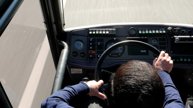 bus driver - bus driver stock videos and b-roll footage