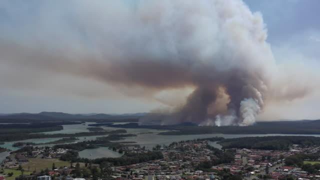 ブッシュ火災 - オーストラリア点の映像素材/bロール