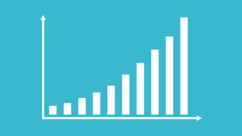 Business And Finance Growth Infographic Bar Graph Or Chart Animation Business and finance growth infographic rising bars in a graph chart animation chart stock videos & royalty-free footage
