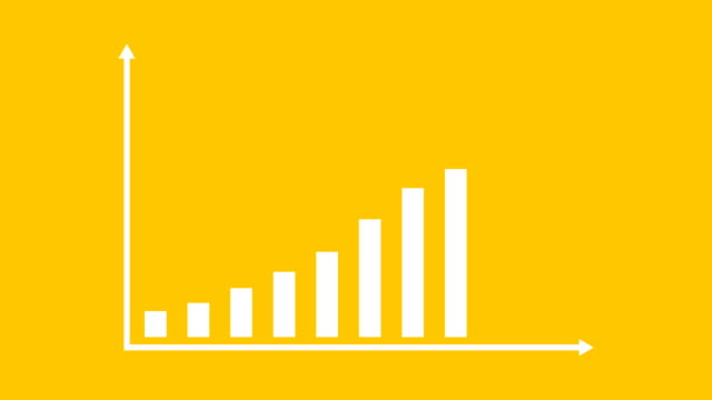 Business And Finance Growth Infographic Bar Graph Or Chart Animation – film