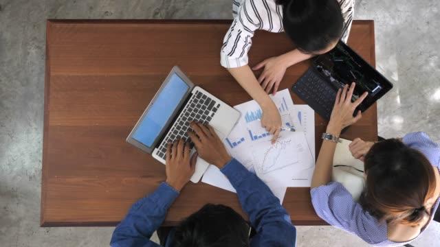 ビジネス ブレーンストーミング、スローモーション - 計画する点の映像素材/bロール