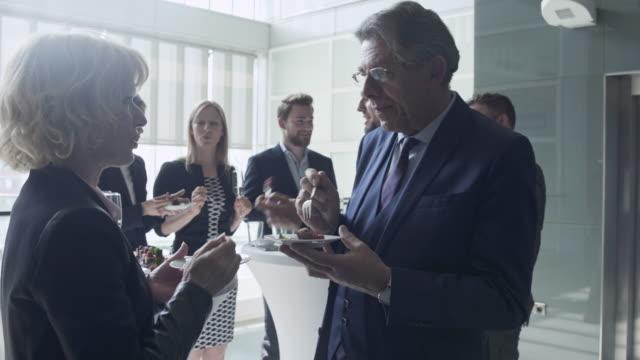 Business celebration 4K Video video