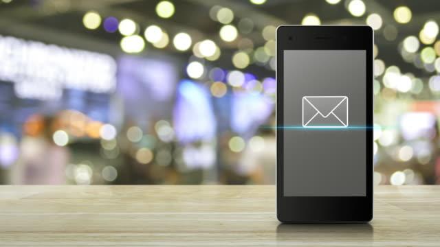 business communication online concept - e mail filmów i materiałów b-roll