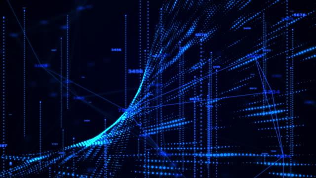 vídeos de stock, filmes e b-roll de abstrato de dados empresarial - big data