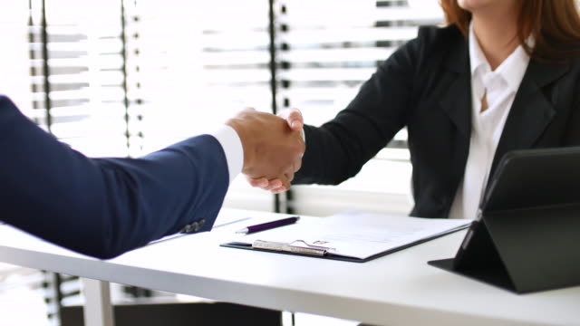 Business deal, agreement - Vidéo