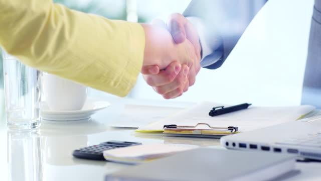 Business deal video