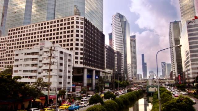 Business district Bangkok video