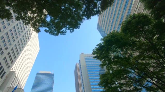 高層ビルのビジネス地区 - 清潔点の映像素材/bロール