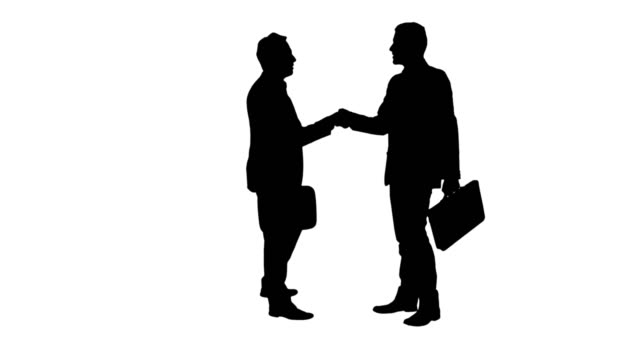 Business Handshake video