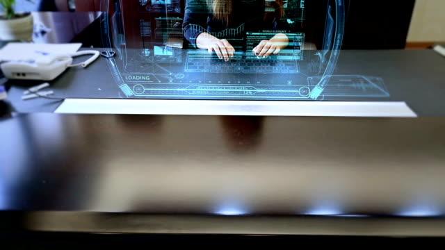 Business Hologram video