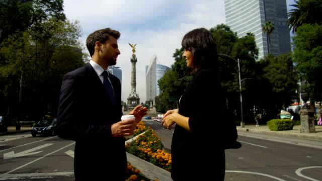 Negocios en la ciudad de México - vídeo