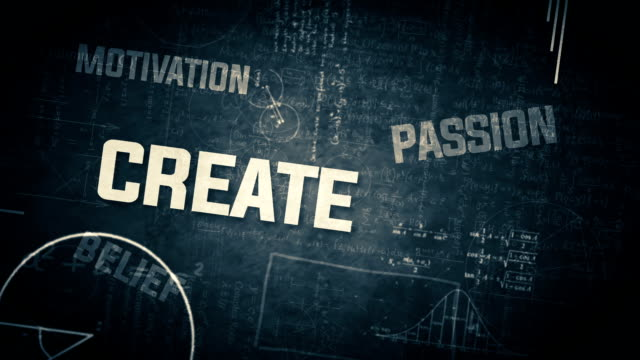 Business Keyword Animation video