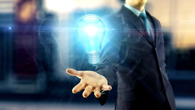 Business man idea concept