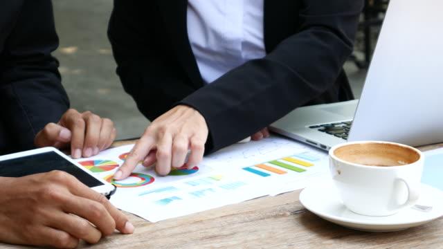 Partenaires d'affaires et de réunion, 4 k (UHD - Vidéo
