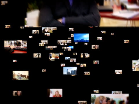Business Media World Montage video