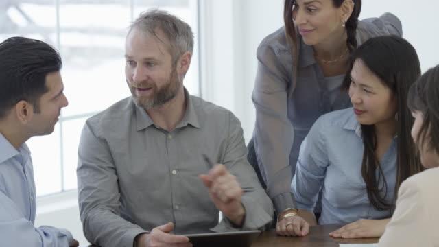 Business Meeting in Board Room video
