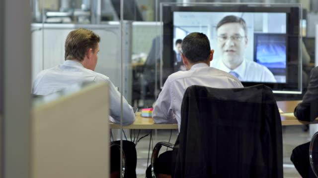 ls ds ビジネス会議にビデオコンファレンス - レポートのビデオ点の映像素材/bロール