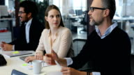 istock Business people discussing in meeting at office 1085385884
