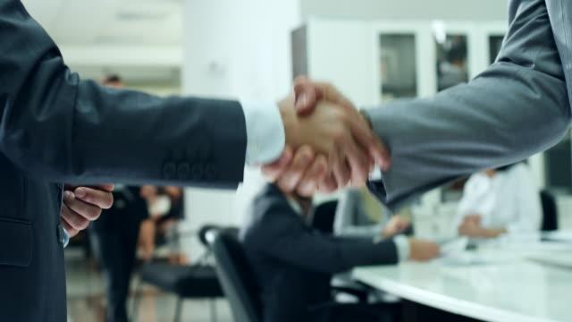 Business People Handshake Handshake Of Business People shaking stock videos & royalty-free footage