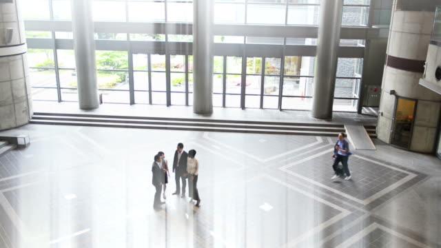 Business people in Japan video