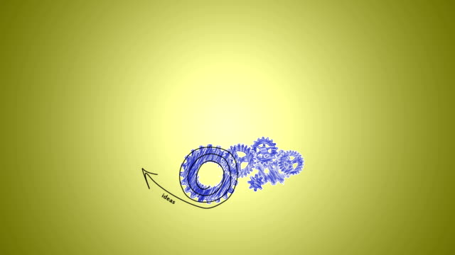 business plan, gears and arrows video