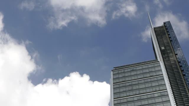Business skyscraper - time lapse video