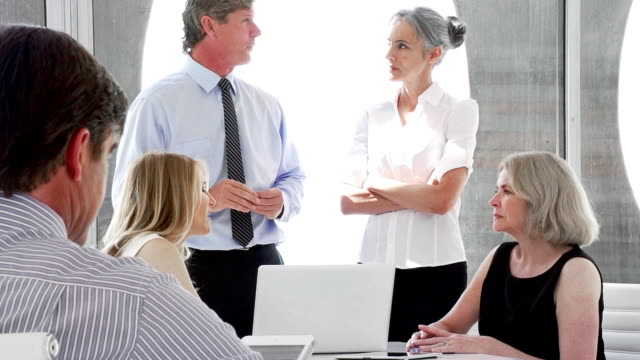 Business Talking video