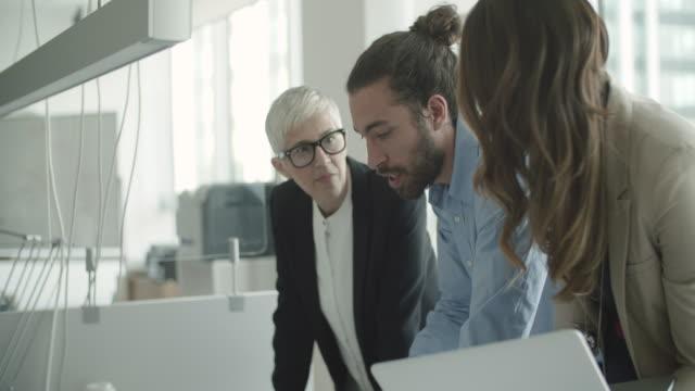 Business talks video