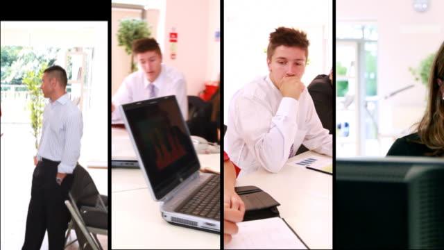 Montage de l'équipe d'affaires - Vidéo