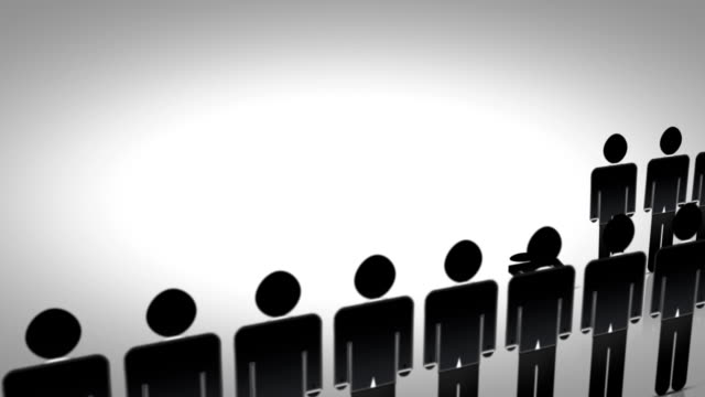 vídeos y material grabado en eventos de stock de equipo de negocios con el líder - person icon