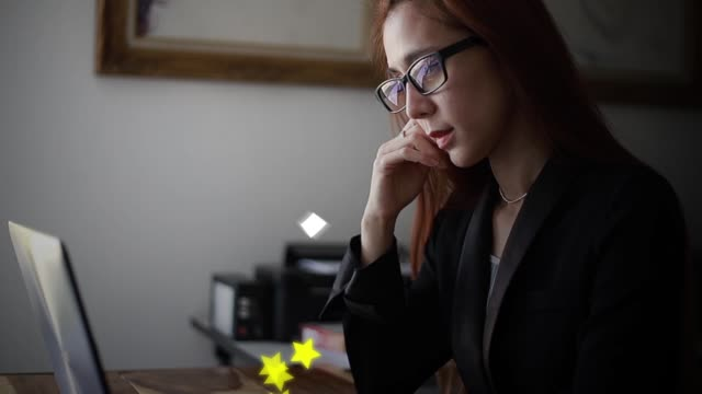 business - feedback stock-videos und b-roll-filmmaterial