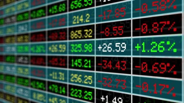 business - azioni e partecipazioni video stock e b–roll