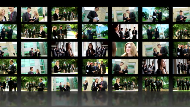 Business video wall video
