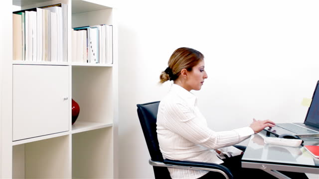 Business Woman In The Office video