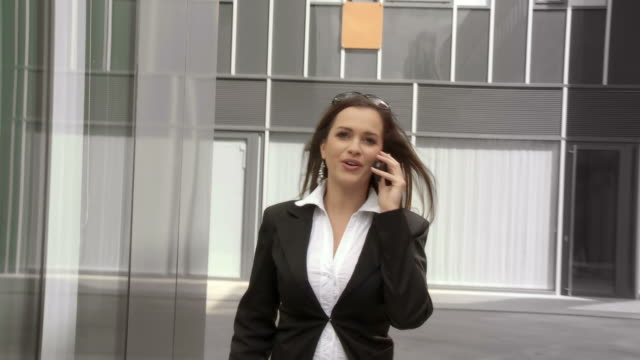 HD: Business Woman Rushing video