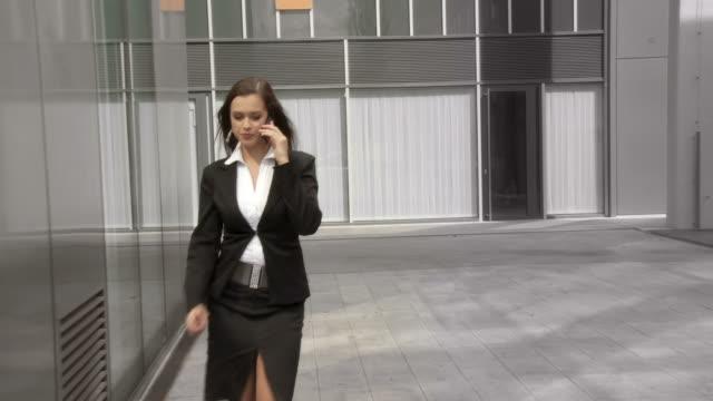 HD: Business Woman Rushing video