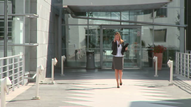 HD DOLLY: Business Woman video