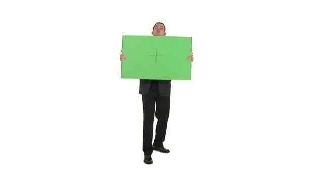HD: Businessman Advertising