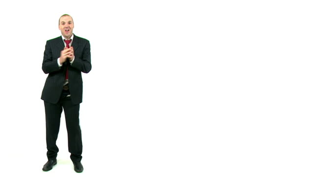 vidéos et rushes de homme d'affaires laisse son pantalon - homme slip