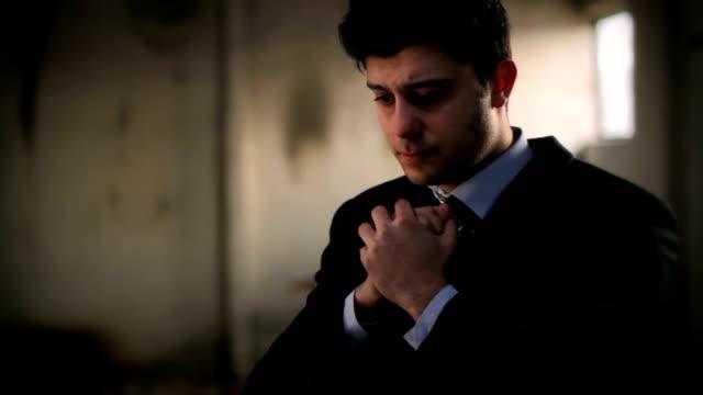 Businessman Praying video