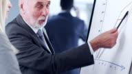 istock Businessman showing on whiteboard 503409900