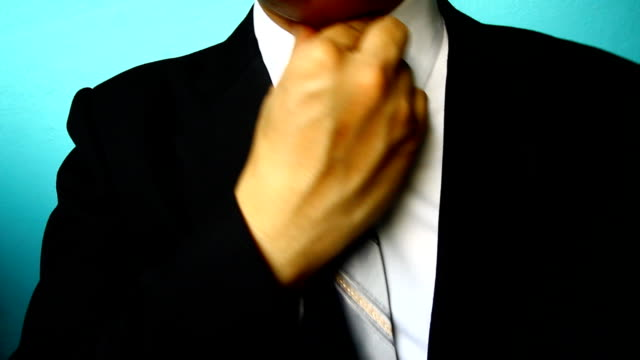 businessman Sore throat businessman Sore throat, sick neck stock videos & royalty-free footage