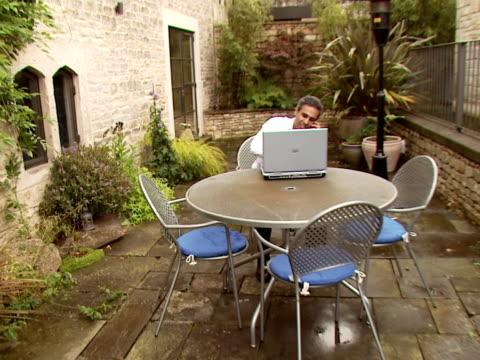vídeos de stock e filmes b-roll de empresário do lado de fora - isolated house, exterior