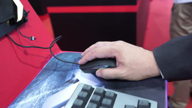 businessman's hands typing on computer keyboard