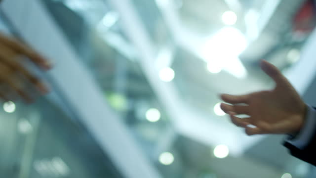 Businessmen Handshake video