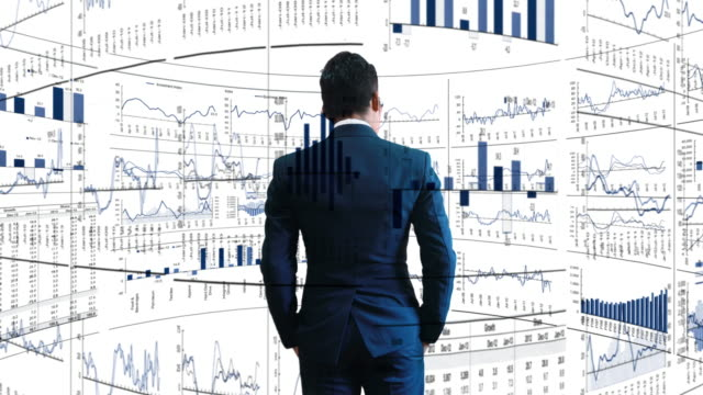 Businessmen with securities analysis. Businessmen with experience in securities analysis. solid stock videos & royalty-free footage