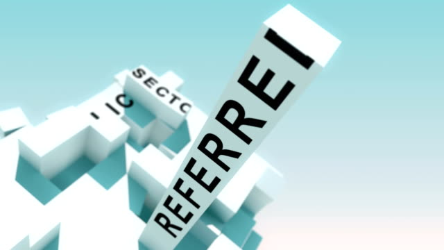 business-to-government words animated with cubes - appalti pubblici video stock e b–roll