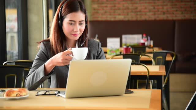 Businesswoman drinking coffee at office workplace cafeteria. Drinking and lunch afternoon tea office break business workplace happy time. Coffee caffeine freshness make professional active lifestyle